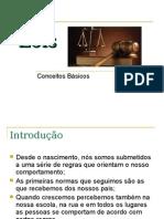 Conceitos básicos sobre leis
