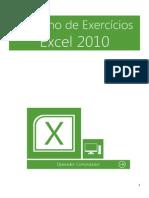 Caderno de Exercícios Excel 2010