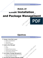 Module 04 - Linux Installation and Package Management