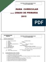 Programacion Anual Del Primer Grado 2015