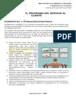 2. Elementos Del Programa Del Servicio Al Cliente