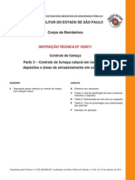 IT_15!3!2011-Parte 3 – Controle de Fumaça Natural Em Indústrias,Depósitos e Áreas de Armazenamento Em Comércios