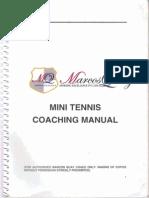 Mini Tennis Coaching Manual