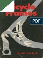 Bicycle Frames Joe Kossack