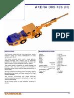 brochure Tamrock Axera D05