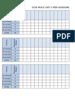 Peer Assessment Unit3