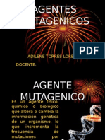 agentes mutagenicos