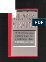 Black Africa - The Economic and Cultural Basis for a Federated State by Cheikh Anta Diop