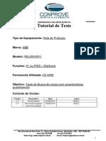Tutorial Teste Rele ABB REL650 Distancia Quadr CE6006