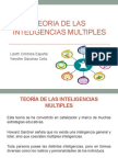 Expo. Teoría de Las Inteligencias Multiples