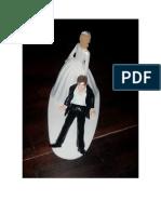 Para Tortas Adornos Matrimonio