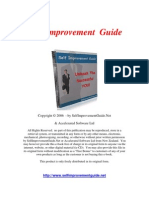 Self Improvemnt Guide