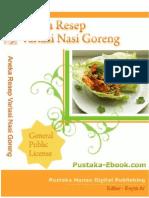 Pustaka eBook.com Aneka Resep Nasi Goreng