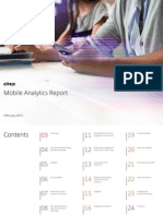 Citrix Mobile Analytics Report February 2015