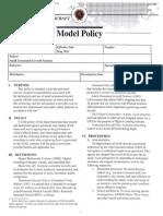 IACP Model UAS Policy