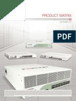 AaaFortinet Product Matrix