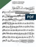 Kreisler - Caprice Viennois - Violin