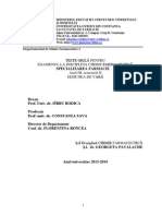 Chimie Farmaceutica - Anul III - Sem. II