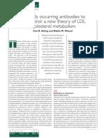 De Origen Natural Anticuerpos Para El Colesterol Una Nueva Teoría Del Metabolismo Del Colesterol LDL
