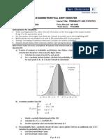 2nd Midterm Exam - 08Dec09