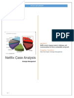 netflix marketing plan essay example The objective of this case is to analyze the netflix's industry netflix: streaming away from dvds essay sample example of airline industry for your.