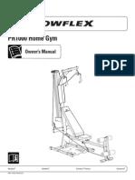Bowflex PR1000 Manual