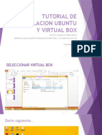 Tutorial de Instalacion Ubuntu y Virtual Box Correo
