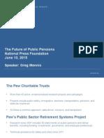 The Future of Public Pension