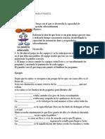 ACTIVIDAD Y JUEGO PARA 4° Primaria