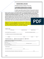 Pace University International Waiver 15 16
