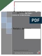 RELATÓRIO DE OBSERVAÇÃO CLÍNICA