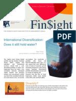 Finsight Issue 1 Jan10