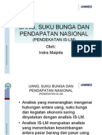 Ekonomi Makro-uang Suku Bunga Dan an Nasional