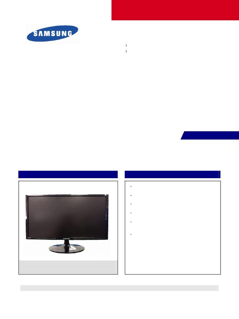 Samsung S19a300b S19a300n S20a300b S20a300n S22a300b