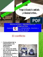 Mediacion de Conflictos en La Escuela - conferencia