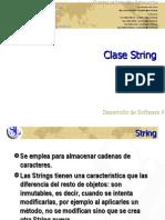 Clase String