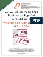 Instrucciones en Espanol - Open Book