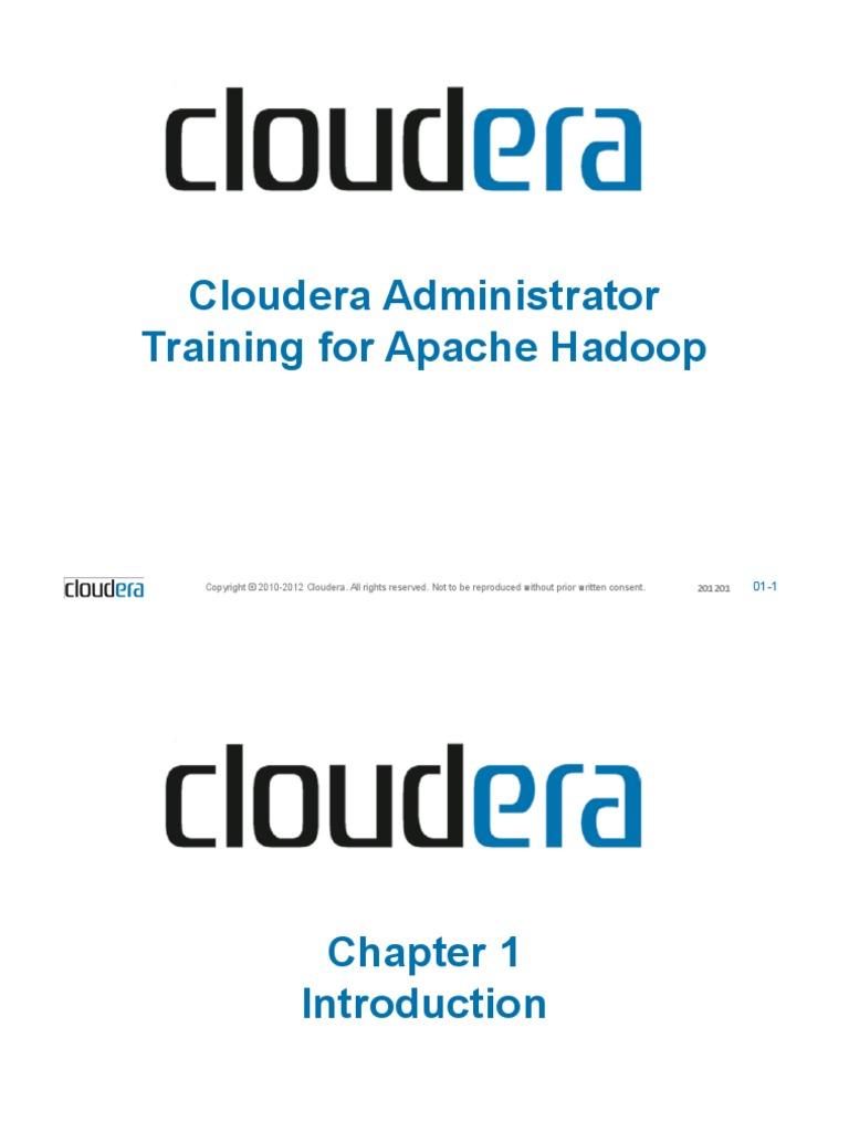 Cloudera Administrator Training | Apache Hadoop | Map Reduce