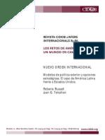 Modelos de Política Exterior América Latina