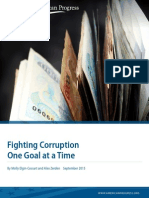 Fighting Corruption One Goal at a Time
