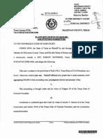 Waco Document Naming Clifford Pierce