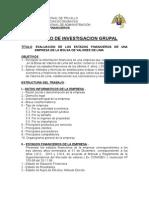 Trabajo de Grupo Estados Financieros 2015-II Unt