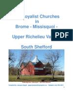 Loyalist Churches in Brome Missiquoi