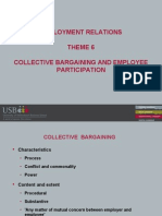 Theme 6 - Collective Bargaining and Employee Participation