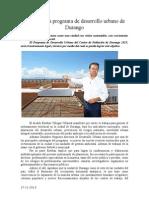 27.11.2013 Comunicado Se Consolida Programa de Desarrollo Urbano de Durango