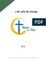 Manuales Jefes de Liturgia