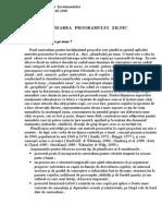 1.organizareaprogramuluizilnic