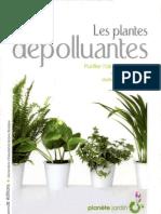Les plantes dépolluantes