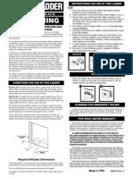 2 Story Kidde Escape Ladder Manual