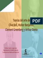 Bell Benjamin Greenberg y Danto